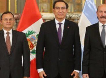 Jorge Yoma se reunió con el presidente de Perú