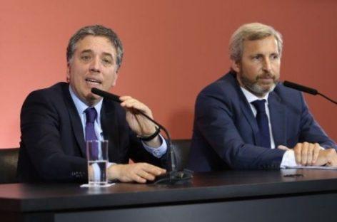 Nación plantea a La Rioja recortes por $1800 millones en 2019