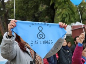 Profesionales de la salud marcharon en contra del Aborto Legal