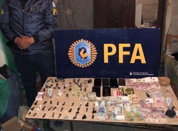 Policía Federal allanó 'kioscos' de droga: dos hermanos detenidos