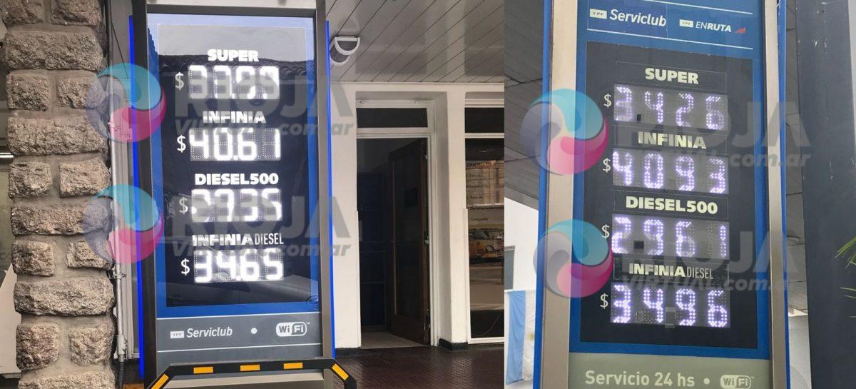 La suba de precios en la nafta y el gasoil no da tregua