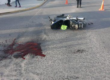 Falleció el motociclista José Chanampa de 40 años