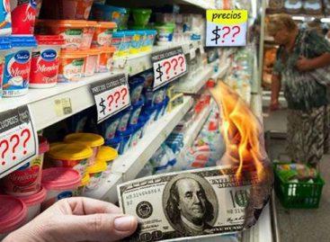 Los precios de los alimentos se aceleran fuerte en agosto