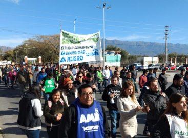 Masiva marcha en defensa de la Universidad y la Educación Pública