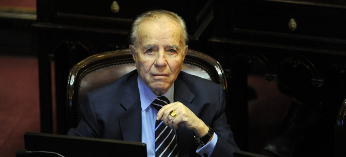 Menem ratificó y justificó porqué votará contra el Aborto Legal