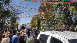 #100años El encuentro del Niño Alcalde con San Francisco en la peregrinación a Las Padercitas.