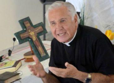 El sacerdote Darío Betancourt estará en La Rioja