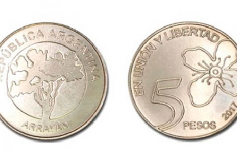 Comenzaron a circular las monedas de $5 en todo el país