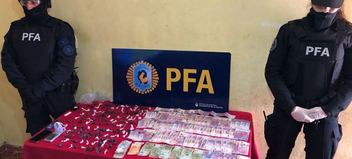 Capital. La Policía Federal desbarató otro 'kiosco' de droga