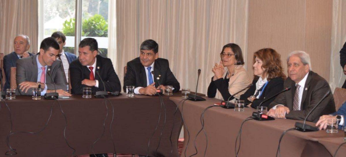 Avanzan los acuerdos por Corredor Bioceánico y Pircas Negras