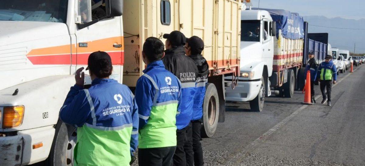 Amplio operativo de prevención y concientización vial en rutas riojanas
