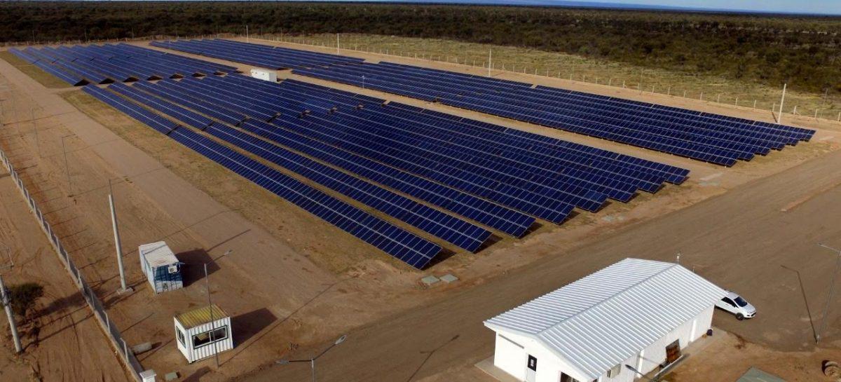 Entra en funcionamiento el Parque Solar de Chepes