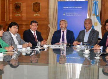Casas se reunió con Frigerio por los fondos extra para el 2019