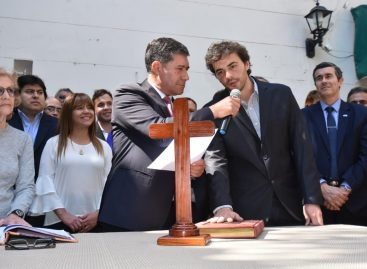 Asumió Juan Carlos Santander de ministro de Desarrollo Social