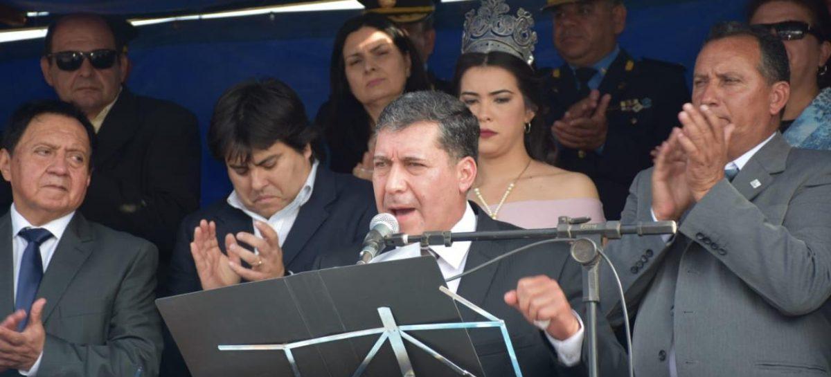 """Casas apuntó contra """"quienes mienten"""" y """"judicializan la política"""""""