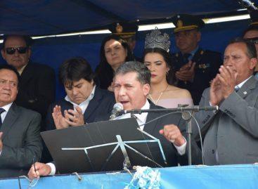 Casas apuntó contra «quienes mienten» y «judicializan la política»
