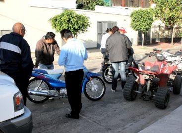 El municipio solicitará el seguro de motos en controles