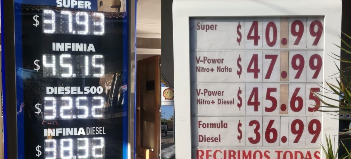 Aumentó la nafta y el litro llega a $48 en La Rioja