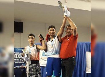 El riojano 'Sansón' Rosa, campeón argentino de boxeo