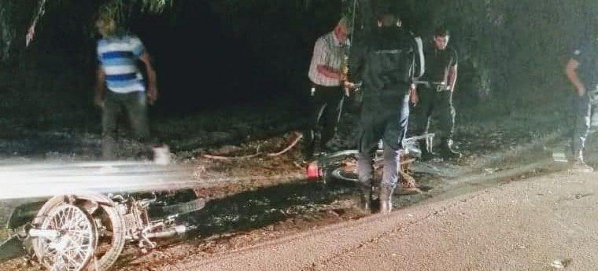 Otro accidente fatal tras chocar dos motos: un muerto
