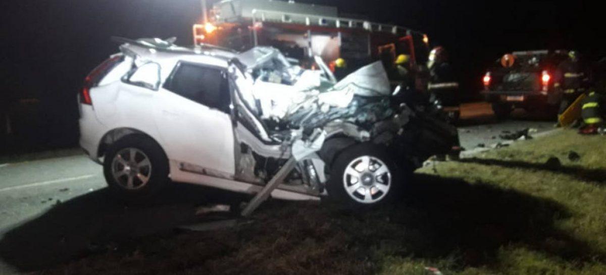 Murió De la Sota en un accidente rutero