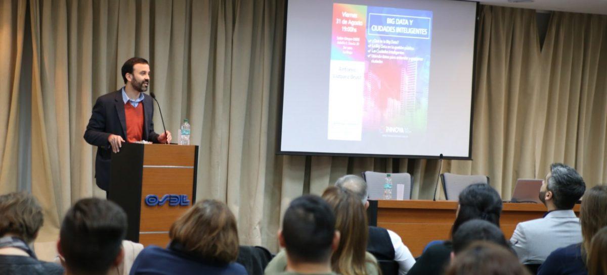 """Innova puso primera con encuentro de """"Big Data y Ciudades Inteligentes"""""""