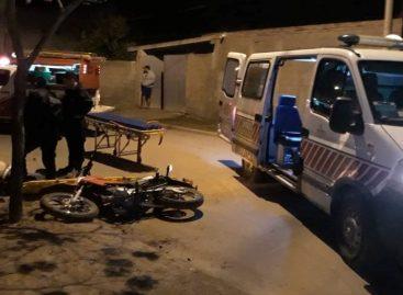 Motociclista chocó un poste de energía y le costó la vida