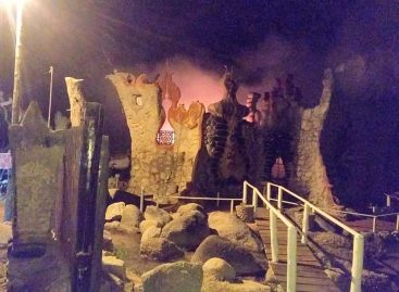 Pesar por incendio en el 'Castillo de Dionisio': pérdidas totales