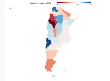 La Rioja, la provincia que más empleo privado perdió en el último año