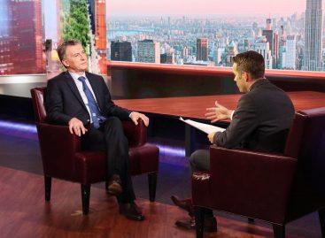 Macri confirmó que va por la reelección