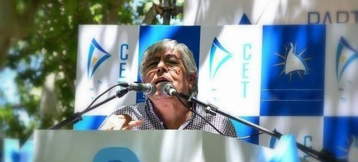 Hugo Moyano llega a La Rioja con su propio partido político