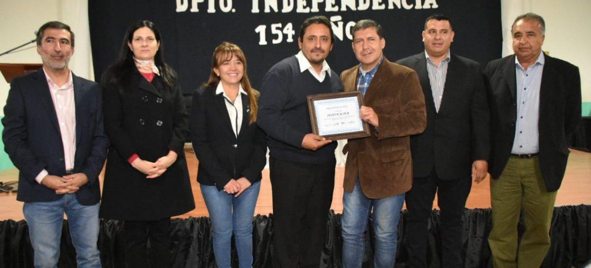 Casas volvió a reclamar deuda millonaria de Nación para con La Rioja