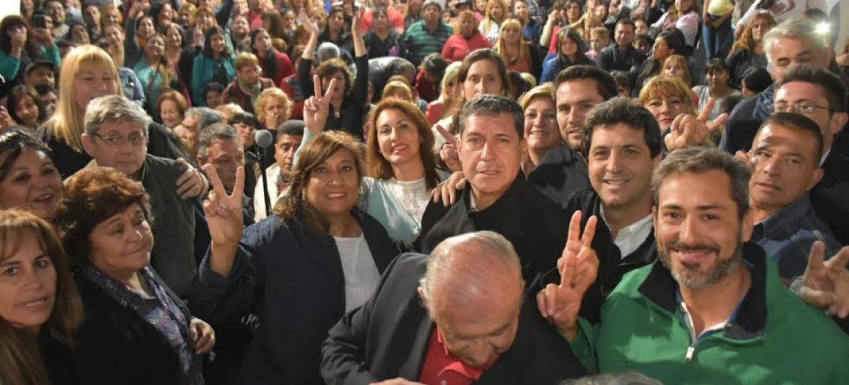 La dirigencia del PJ respaldó a Casas e impulsa su reelección