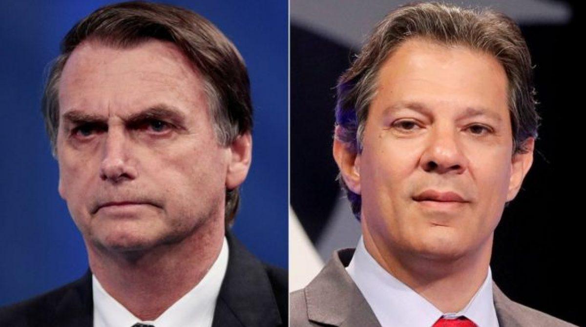 Presidenciales-Brasil. Bolsonaro y Haddad van a segunda vuelta
