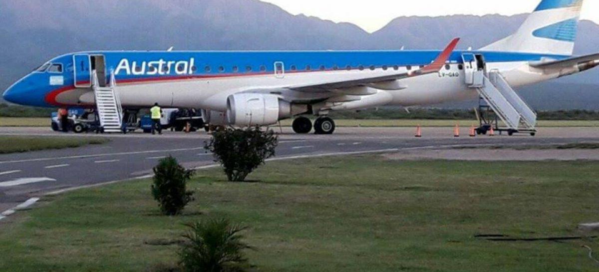 Nación promete vuelos directos de La Rioja a otras cinco provincias