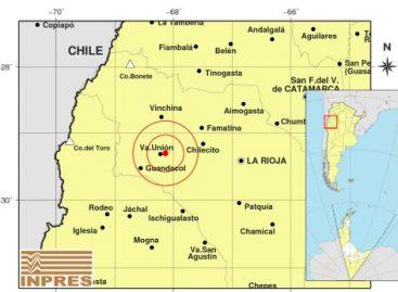 Susto en Villa Unión tras un sismo de 3 grados