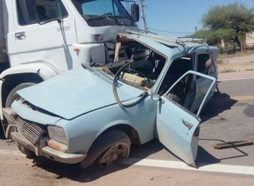 Un muerto en un terrible accidente rutero