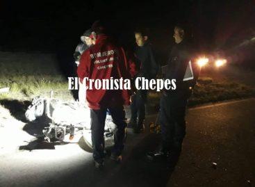 Otro motociclista pierde la vida en accidente rutero