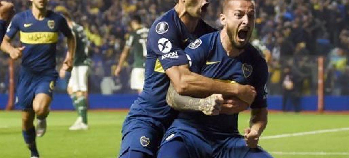Copa Libertadores. Boca venció 2-0 a Palmeiras y tiene un pie en la final