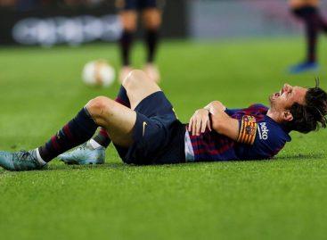 Se fracturó Messi y preocupó al mundo fútbol