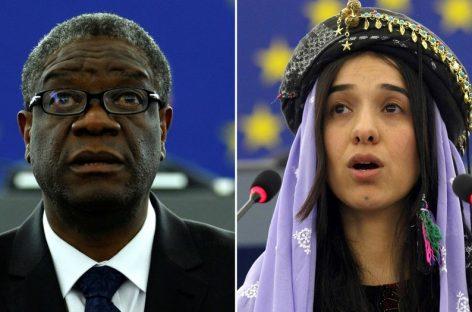 Nobel de la Paz para un médico congoleño y una activista iraquí que luchan contra la violencia sexual