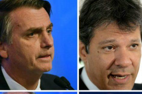Brasil elije presidente con una elección polarizada