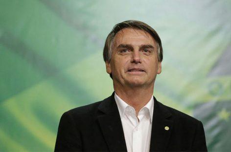 Bolsonaro es el nuevo presidente de Brasil