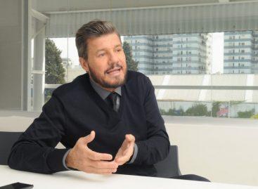 Tinelli no descartó ingresar a la política