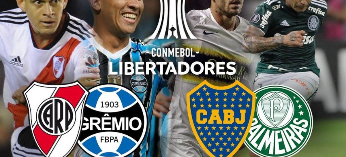 Días y horarios de las semis de la Copa Libertadores