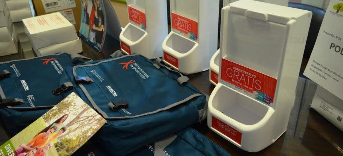 Capital. Distribuyeron 17 mil preservativos por la campaña Preven-Sida