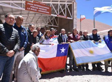 Ya se puede cruzar desde La Rioja a Chile por Pircas Negras