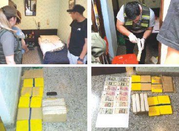 Desbaratan banda narco que abastecía de droga a La Rioja