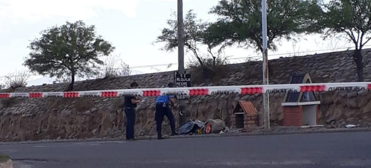 Chilecito. Otro accidente, otro motociclista y otra muerte