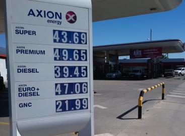El litro de nafta quedó al borde de los $50 en La Rioja